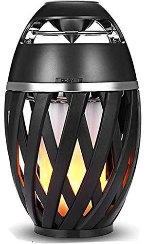 Rewy HHM3109 Wireless Portable Bluetooth Lamp Speaker with in-Built Mic Supported with FM/AUX/SD Card USB Slot Compatible with All Devices (Assorted Colour)