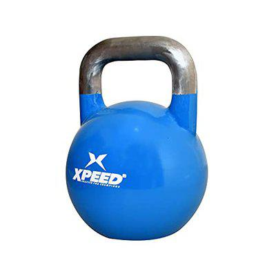 XPEED Kettlebell for Cardio Strength Fitness Kettle Bell for Home Gym Weights Kettle Bell for Home Gym Fixed Weight Kettle Bells Men Women Conditioning and Cross Training (12.00)