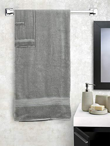 SWHF Chic Home Premium Solid Soft Cotton, 550 GSM Cotton  Light Weight   Quick Dry   1 Towels - (75*150cms), 1 Hand Towel (40*70) and 1 Face Towel (30*30 cms) Bath Set & Combo   Machine Washable   Pack of 3 Terry Towel)