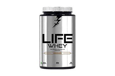 Divine Nutrition By Sahil Khan-Life Whey Protein Chocolate Flavour (1 kg)