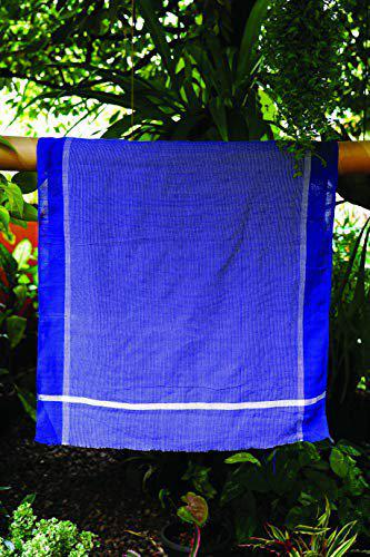 looms and weaves - 2 Premium Handwoven Colour Bath Towels Ultra Soft, Light Weight and Highly Absorbent (50 inch x 28 inch) - Unisex