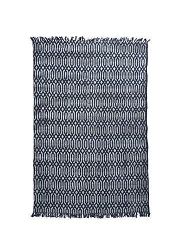 Contrast Living Winhok Cotton Printed Rug Durry Carpet | Living Room | Bed Room |Hall (Size:- 120x180 cm |4x6 Feet )