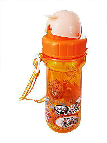Pelo Kids Sipper Water Bottle with Straw for Travel Purpose Pack of 1