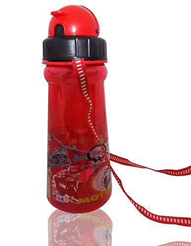 Pelo Sipper Water Bottle Pack of 1 (Red)