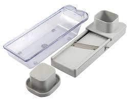 Fab Signal Stainless Steel Vegatable and Dry Fruit Slicer (White & Black)