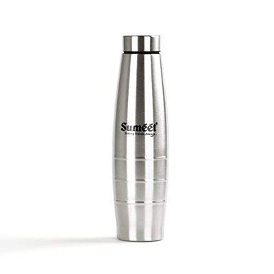 Sumeet Ovatus Stainless-Steel Leak-Proof Water Bottle / Fridge Bottle - 1000ML - 1pc