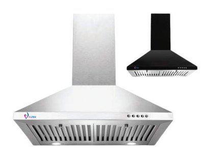 Vortex BEETA Stainless Steel Basic Chimney 90 cm
