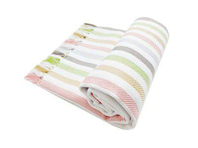 Mylooms Astra Premium Cotton Light Weight Honeycomb Style Check Towels: Ultra Soft, Super Absorbent - Bath Towel for Home & Travel XLarge 30X60 (Multicoloured Stripes)