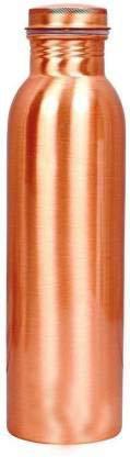 Diamond Copper Water Bottle, 1000ml, Set of1