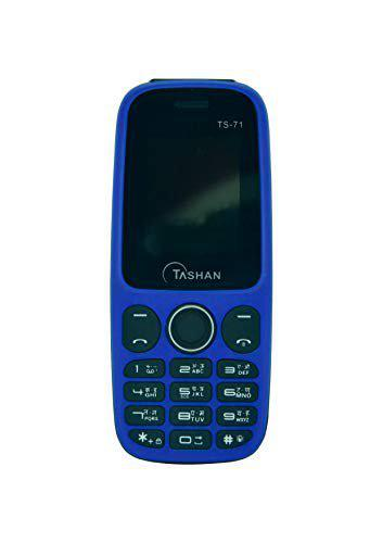 Tashan TS-71 Keypad Mobile Dual Sim Feature Phones 1.3MP Rear Camera Primary Camera Alphanumeric GSM 1050mAh Battery