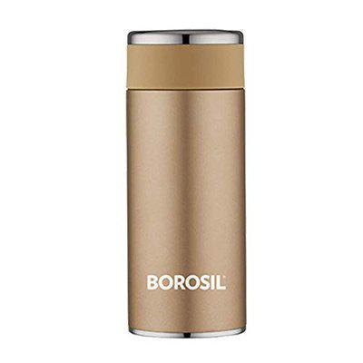 NAWAB Traders Stainless Steel Hydra Travelsmart - Vacuum Insulated Flask Water Bottle 360 ML Rose Gold