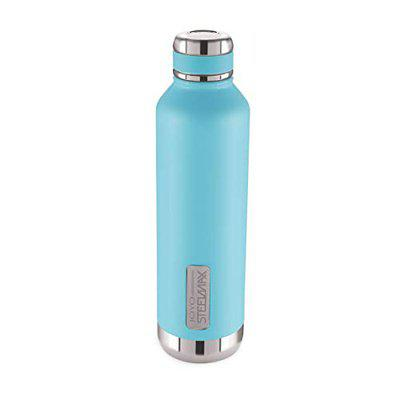 Joyo Steelmax Cool Pride Double Walled Hot and Cold Stainless Steel Insulated Water Bottle for Office, Gym, Travel, Hiking, Trekking (BPA Free, 750 ML) Blue