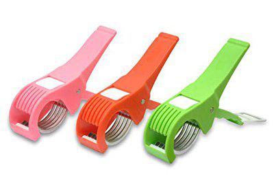 Sagar Enterprise Combo of Vegetable Cutter/Vegetable Chopper/Bhindi Cutter Slicer/Veg Cutter Pack of 3 - S.E-171