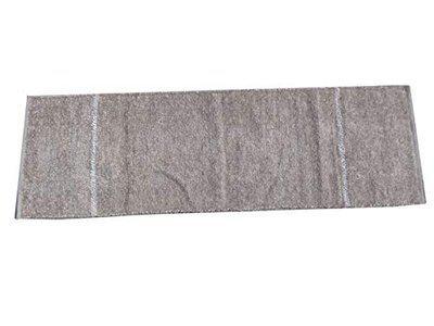 Ratan 100% Cotton Rug, Reversible Soft Multi-Purpose Floor Rug, for Bedroom Living Room Kitchen Bedside Runner (22x68 inches) Grey