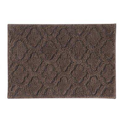 Obsessions Noel 100% Cotton Dark Grey Bath Mat (40X60)