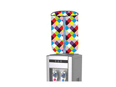 RK Textiles PVC Plastic Modern/Stylish Printed Laminated Non Wooven Water Bottle Cover 20ltr, Watepurifier/Water Dispenser Cover With Size (length -16 Inch, Diameter - 35 Inch)