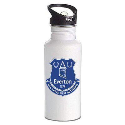 Gen7 Everton Printed Bottle | Lightweight Sipper Bottle, 600 ml [White]