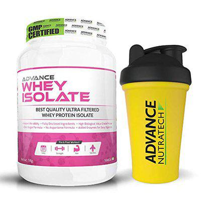 Advance Nutratech Whey Protein Isolate 90% Kg Vanilla)