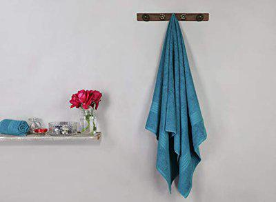 Bombay Dyeing Large Size Bath Towel for Men & Women 450GSM - Tulip (InkBlue)