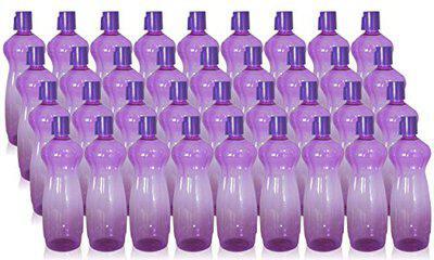 Wonder Plastic Prime Classic Fridge Bottle Set, 36 Pcs Bottle 1000 ml, Violet Color, Made in india