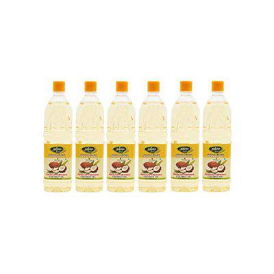 Thanjai Natural 6L Virgin Wooden Cold Pressed Coconut Oil 100% Pure Natural, 6000ml