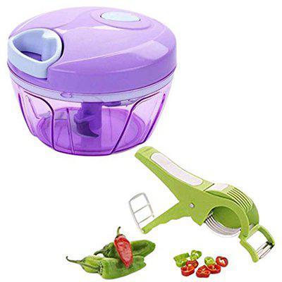 vegetable chopper 450ml & vegetable chopper kitchen for manual with 3 blades   vegetable chopper jumbo