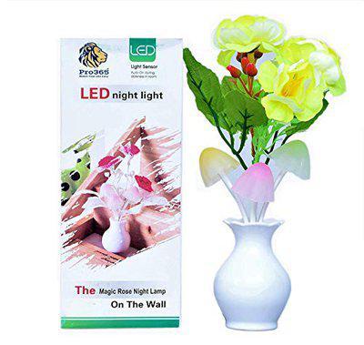 AlexAuto On/Off Vase Color Changing LED Sensor Night Lamp (Multi)