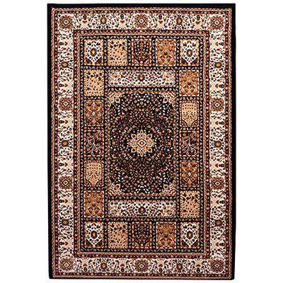Galicha Navy Blue Color Rug | Traditional Carpet |Living Room Carpet | Bedroom Rug | 120 cm x 180 cm
