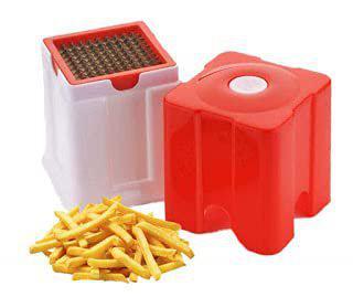 Alexa Potato and Vegetable Cutter French Fries Slicer Chips Chipser Maker (Multicolor)