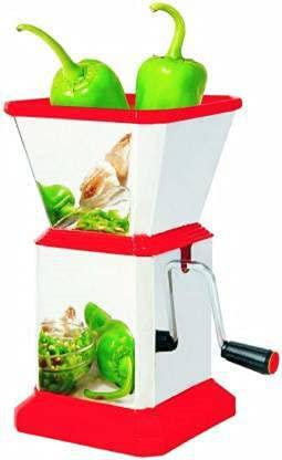 Sc- Chilly Cutter Stainless Steel Onion Chilly Dry Fruit Vegetable Cutter Chopper