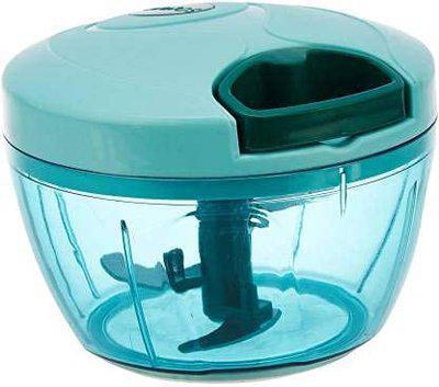 A. S. Enterprise New Handy Vegetable Chopper, Cutter, Mixer Set for Kitchen,3 Blade, Green