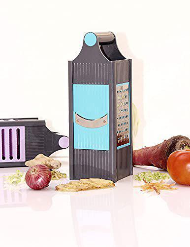 Apex Home Care Stainless Steel 4 in 1 Slicer and Grater Chopper Fruit Slicer Potatotes Slicer