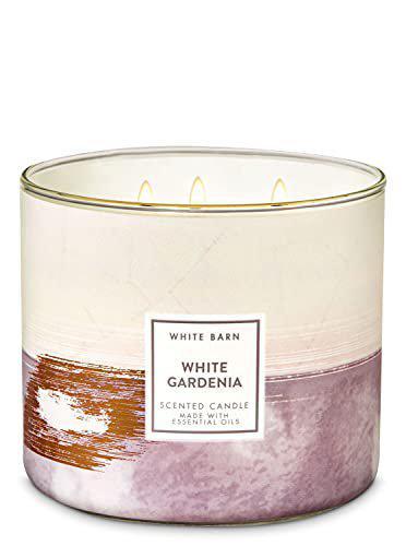 Bath & Body Works White Gardenia 3-wick scented candle