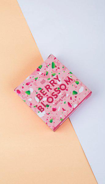 Berry Blossom Scrub Soap