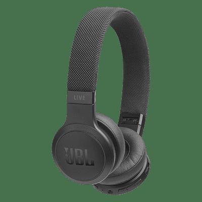JBL Wireless Bluetooth Headphones (Live 400BT, Black)
