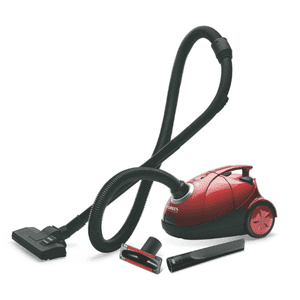 Eureka Forbes Quick Clean DX 0.5 Litres Dry Vacuum Cleaner (Red)