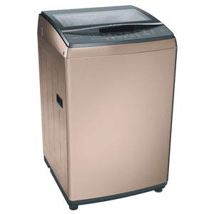 Bosch 7 kg Fully Automatic Top Loading Washing Machine (PowerWave Plus WOA702R0IN, Champagne)