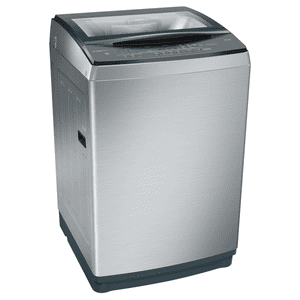 Bosch 10 kg Fully Automatic Top Loading Washing Machine (WOA106X0IN, Inox)