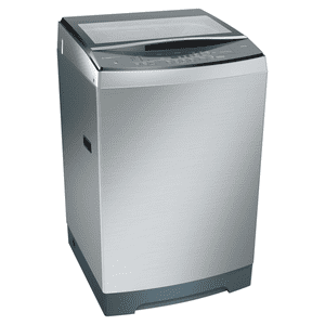 Bosch 12 kg Fully Automatic Top Loading Washing Machine (WOA126X0IN, Inox)