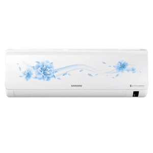 Samsung 1 Ton 3 Star Inverter Split AC (AR12RV3HFTY, Copper Condenser, White)