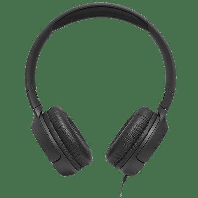JBL Tune 500 Wired Headphones (Black)