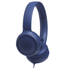 JBL Tune 500 Wired Headphones (Blue)