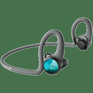 Plantronics Backbeat Fit Wireless Bluetooth Headphone (2100, Lava Black)