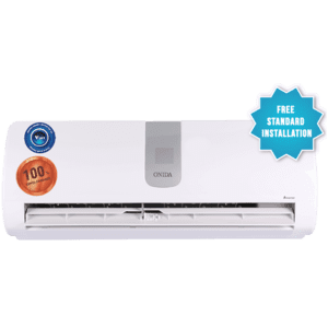 Onida 1 Ton 3 Star Inverter Split AC (IR123ONXS, Copper Condenser, White)