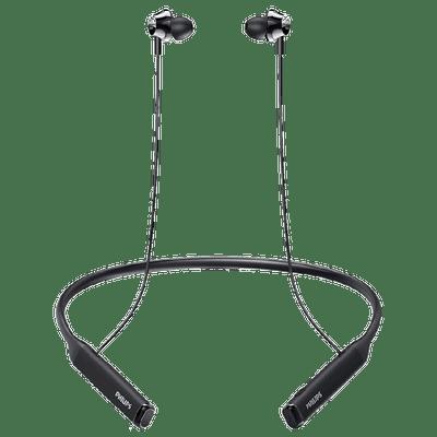 Philips Performance In-Ear Bluetooth Earphone (TAPN402, Black)