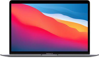 Apple MacBook Air Apple M1 Chip 8GB RAM 512GB SSD 13.3 33.78 cm Display Integrated Graphics mac OS Big Sur Space Grey mgn73hn a