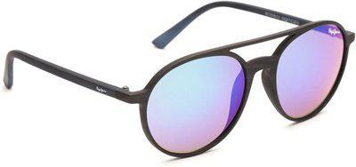 Pepe Jeans Oval Sunglasses(Violet)