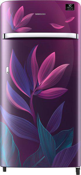 Samsung 198 L Direct Cool Single Door 4 Star (2020) Refrigerator(Paradise Purple, RR21T2G2X9R/HL)