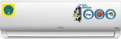Onida 1.5 Ton 3 Star Split Dual Inverter AC - White(IR183RHO, Copper Condenser)