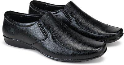 Bersache Formal Shoes, Slip On Office Shoe, Wedding Shoe, Party Shoe, Trendy Shoe, Lace Up Shoe, Derby Shoe, New Look Leather Shoe, Top Rated, Best Rates,Light Weight Comfortable Shoe For Men'S/Boy'S Slip On For Men(Black)